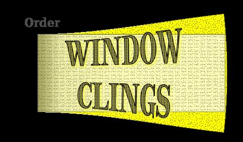 order window clings