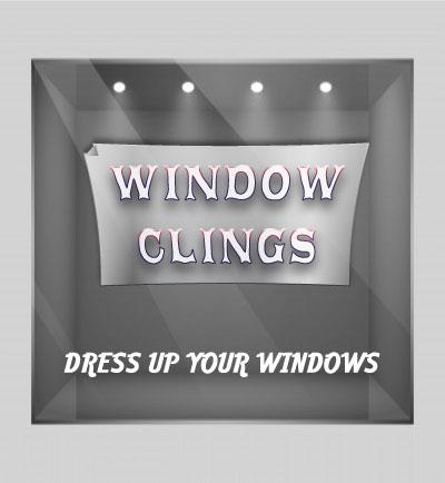 window clings designer